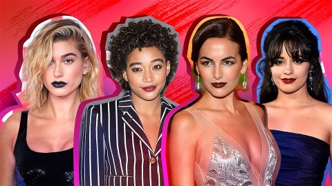 Celebrity Vampy Lipstick Inspo for Your Fall Makeup Routine | StyleCaster