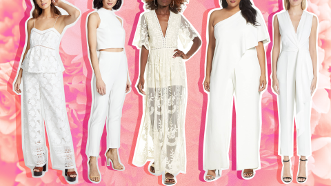 Bridal Jumpsuits So Cute You'll Want Them Even If You're Not Engaged   StyleCaster