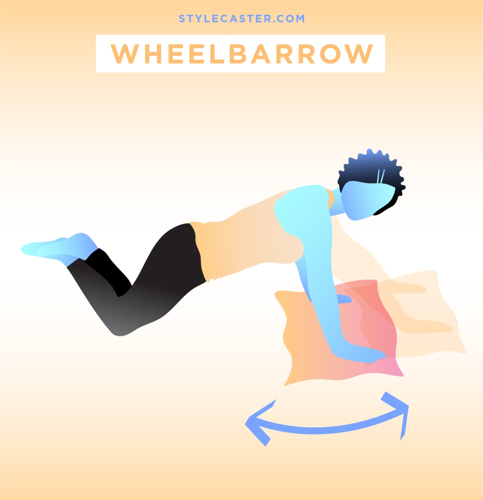 STYLECASTER | Quick and Dirty Workout From Rihanna's Trainer | Wheelbarrow