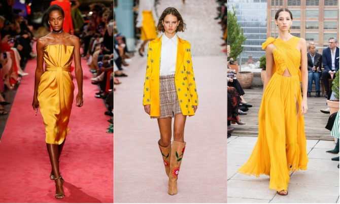 yellow The Top 10 Trends from New York Fashion Week 2018