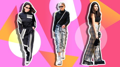 13 Celebrities Who Paid Tribute to '90s Fashion in 2018 | StyleCaster