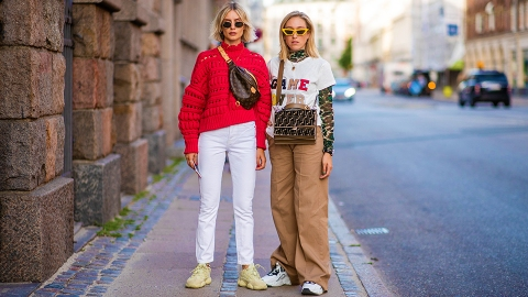 How Your Favorite Street Style Stars Are Wearing Camo This Fall   StyleCaster