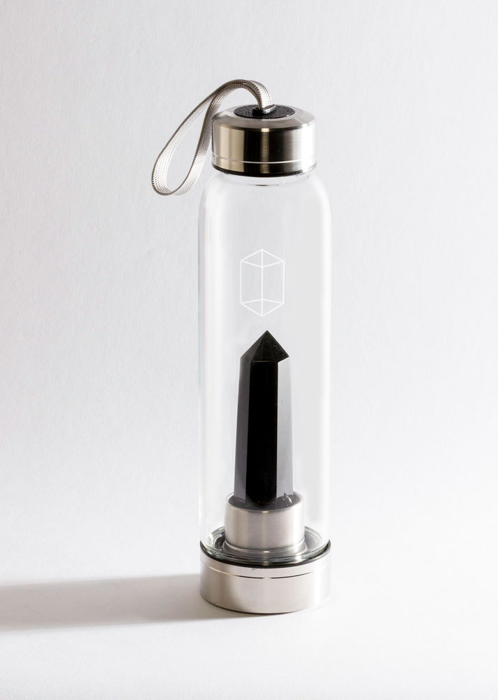 STYLECASTER | Your Everything Guide to Gem-Infused Water | Glacce Bottle
