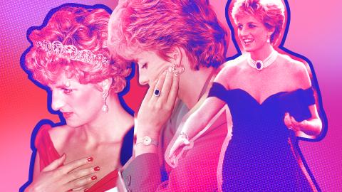 10 Times Princess Diana Broke Royal Beauty & Fashion Tradition | StyleCaster