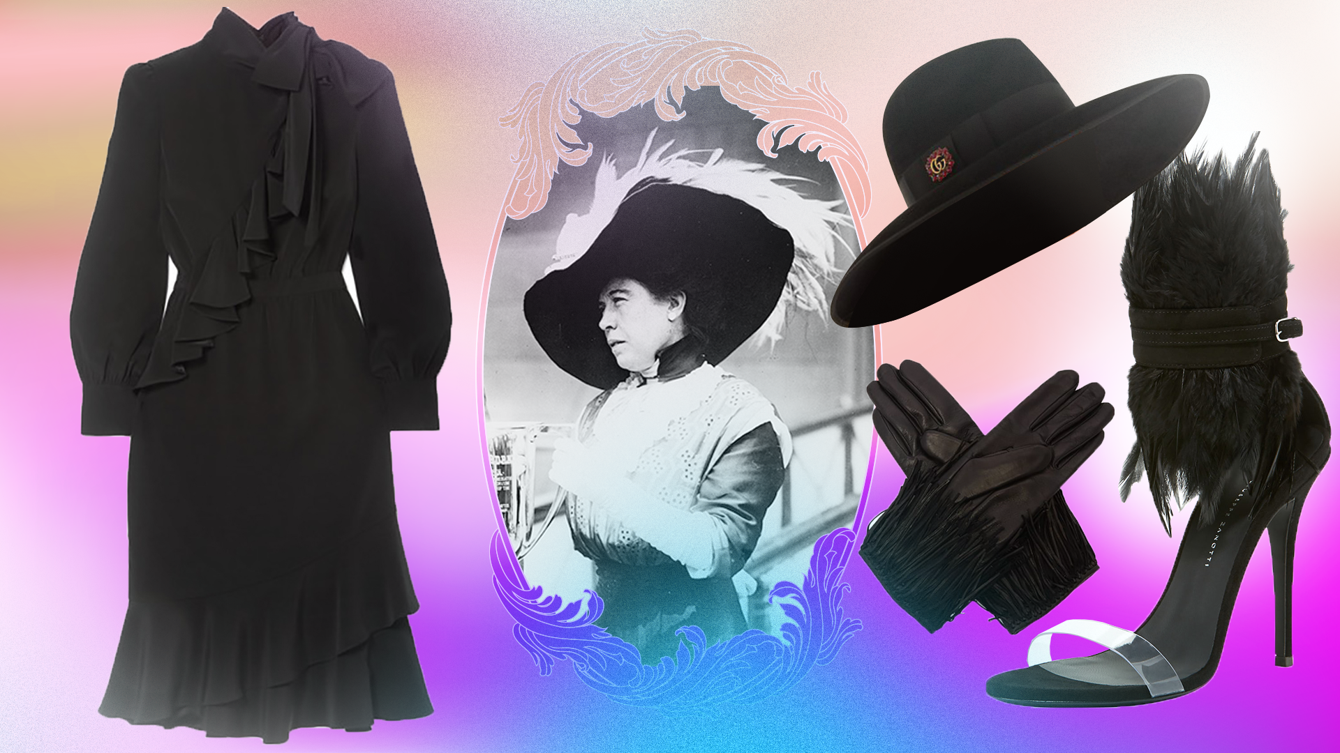 History's Most Fashionable Ghosts, and Fall Pieces They Would've Appreciated
