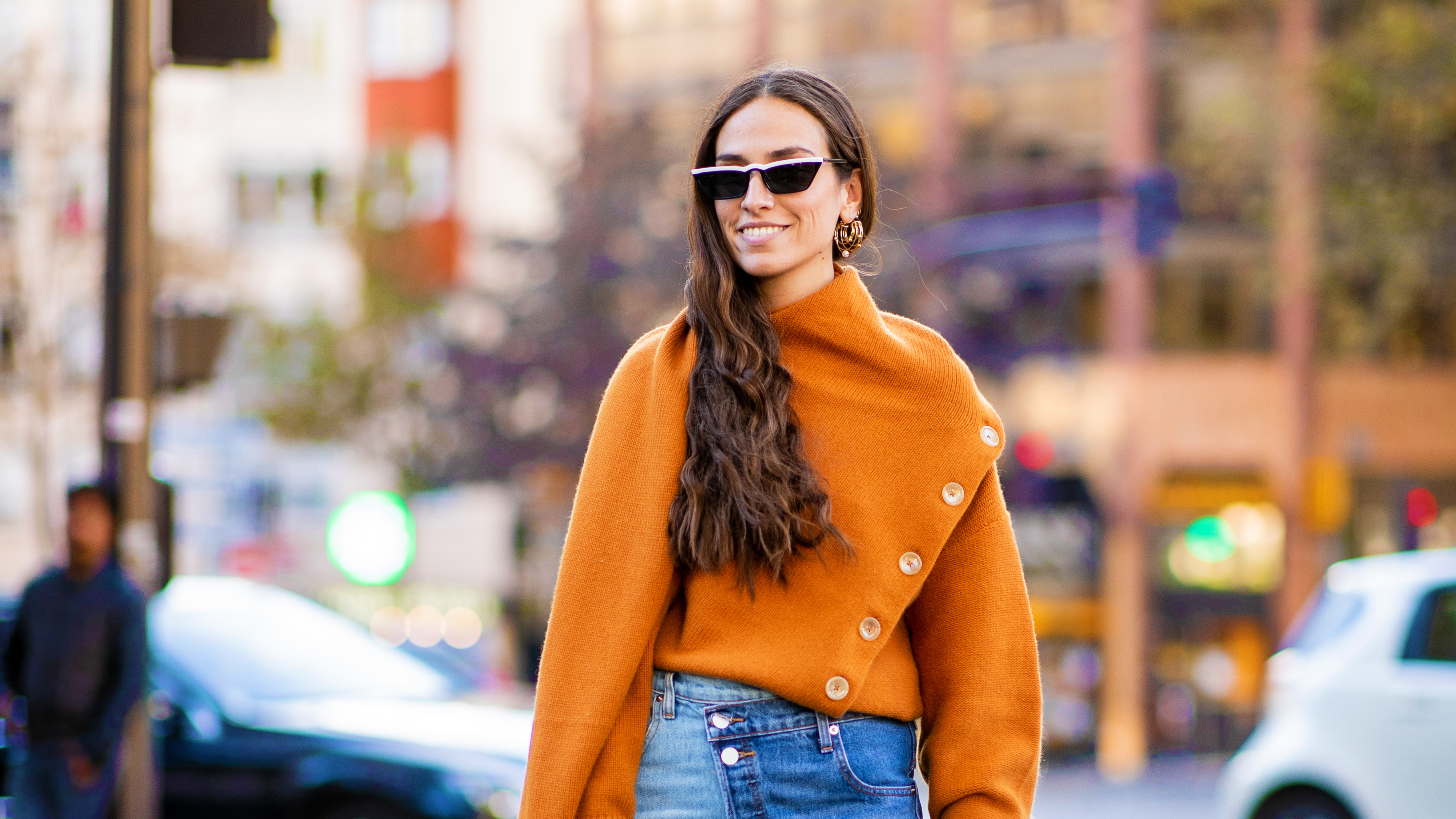 3 Ways to Wear Fashion Month's Favorite Orange Sweater