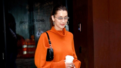 Bella Hadid and Lili Reinhart Do Black and Orange Outfits 2 Different Ways | StyleCaster