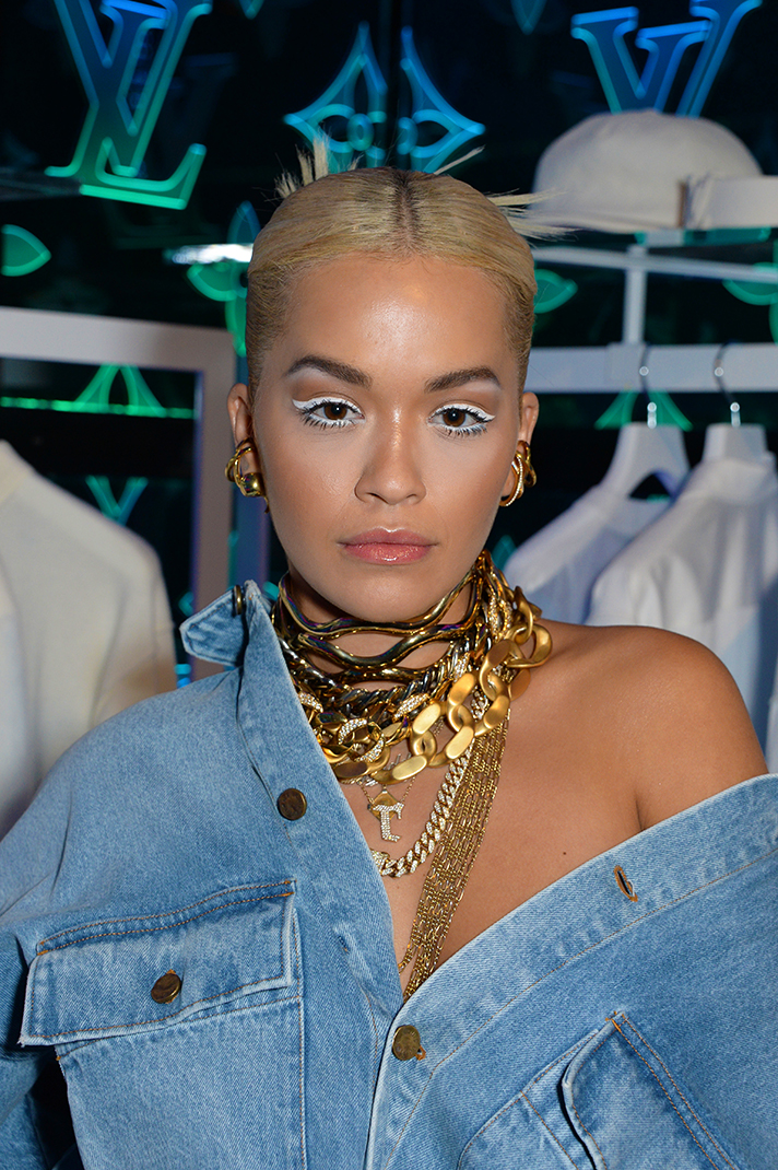 gettyimages 1052551944 Rita Ora Just Sported the Edgiest Canadian Tuxedo We've Ever Seen