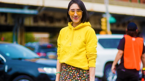 A Street Style Guide to Wearing Fall's Favorite Color | StyleCaster