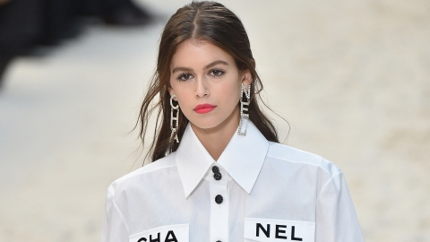 Kaia Gerber Inked Her First-Ever Tattoo—& It's Oh-So Pretty | StyleCaster