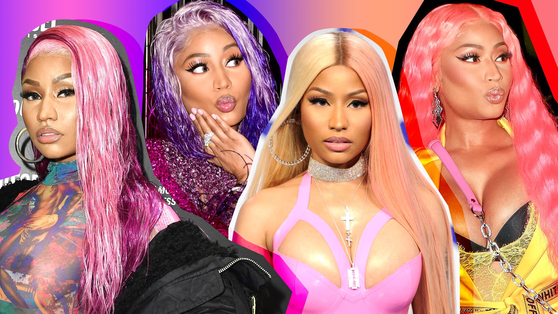 Nicki Minaj's 19 Most Daring Hair Colors Ever