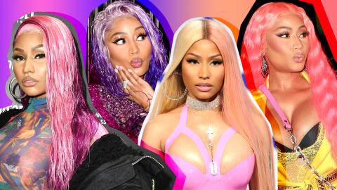 Nicki Minaj's 19 Most Daring Hair Colors Ever | StyleCaster
