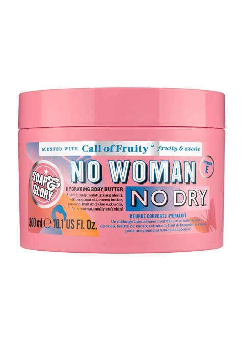 STYLECASTER | Best Body Moisturizers for Winter | Soap and Glory No Woman, No Dry Body Butter
