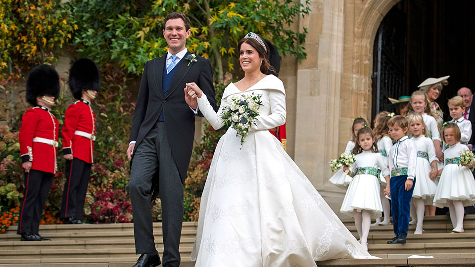 Every Single Jaw-Dropping Look from Princess Eugenie's Royal Wedding