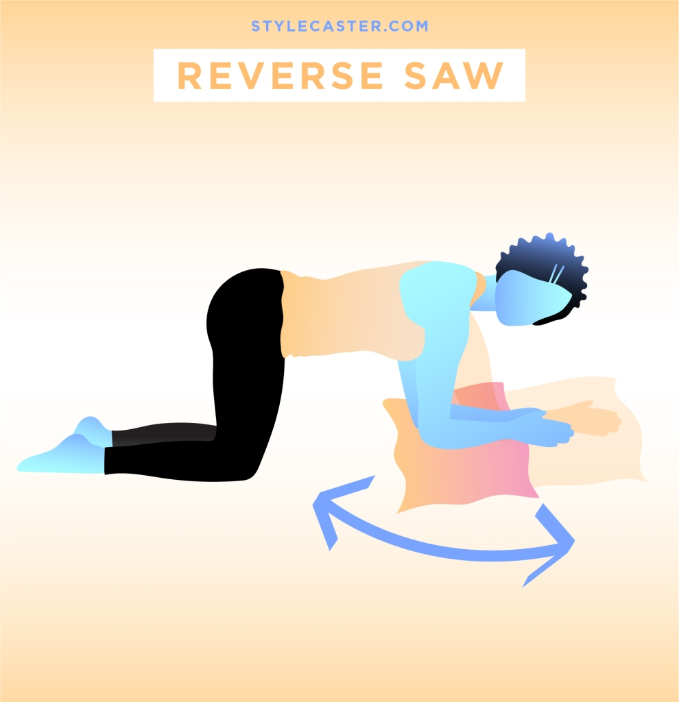 STYLECASTER | Quick and Dirty Workout From Rihanna's Trainer | Reverse Saw