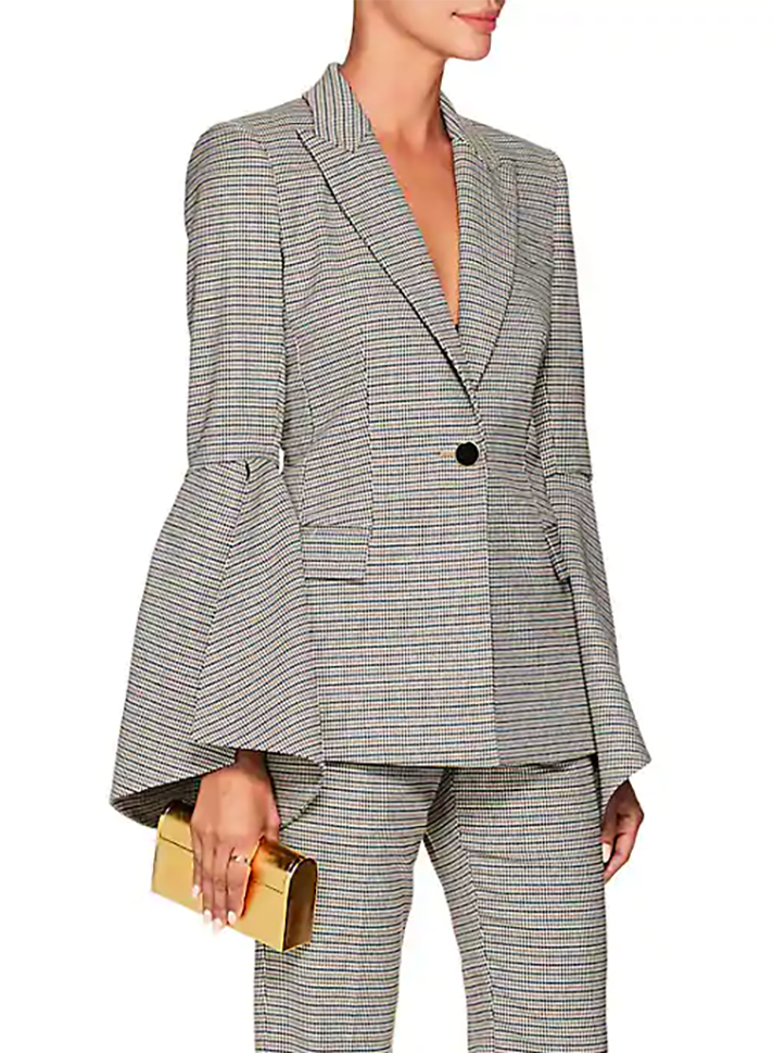screen shot 2018 10 23 at 12 57 01 pm Slit Sleeve Blazers Are the Celeb Approved Way to Wear a Power Suit