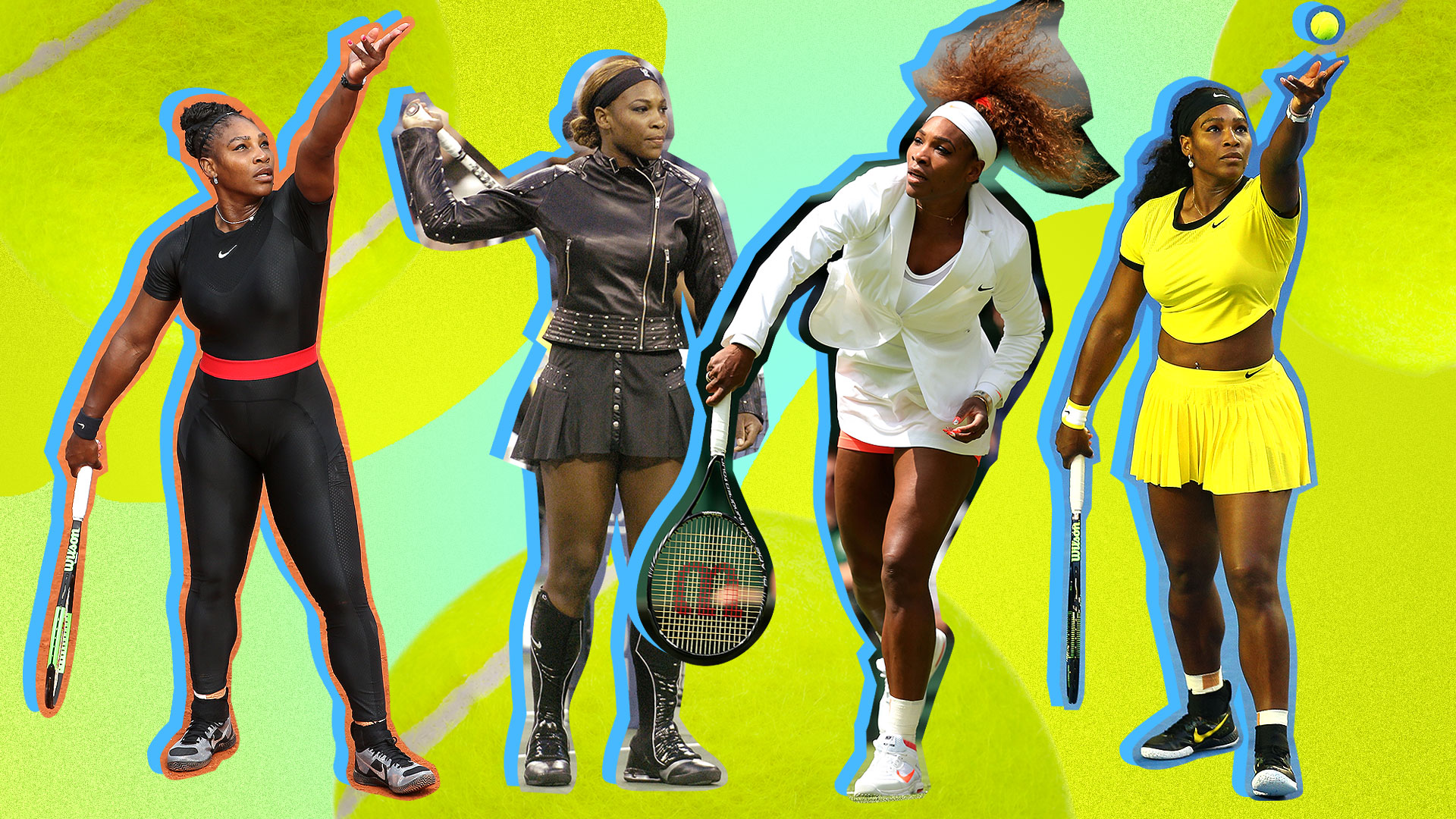 Serena Williams S Best Tennis Fashion Outfits Stylecaster