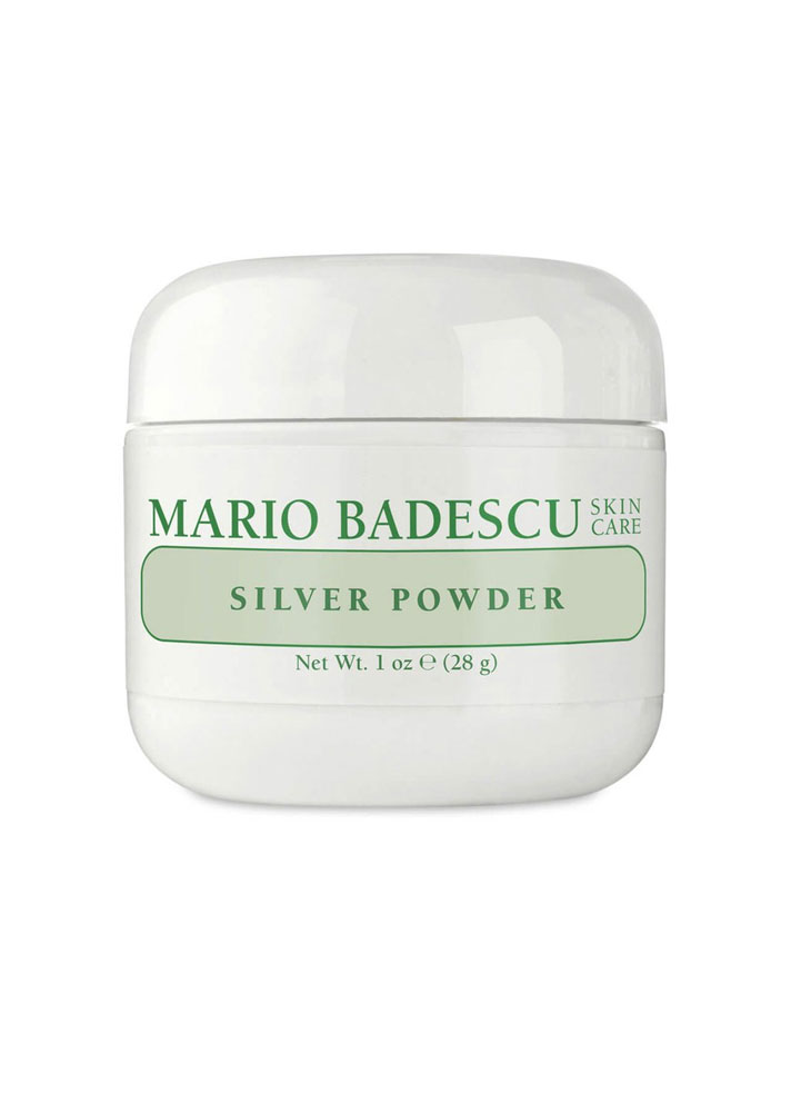 STYLECASTER | Beauty Products Made With Silver | Mario Badescu Silver Powder