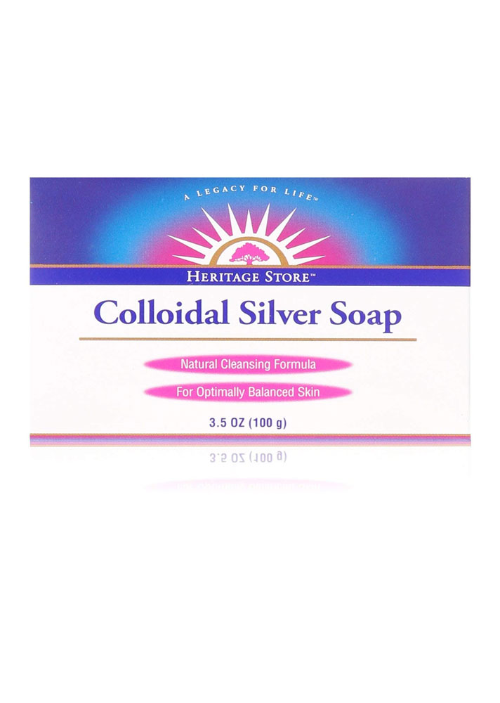STYLECASTER | Beauty Products Made With Silver | Heritage Store Colloidal Silver Soap