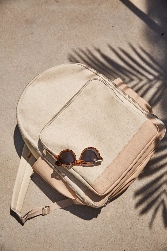 stilllife backpack beige 0043 769x1153 crop center Shay Mitchells New Line, BÉIS, Is Full of Travel Must Haves