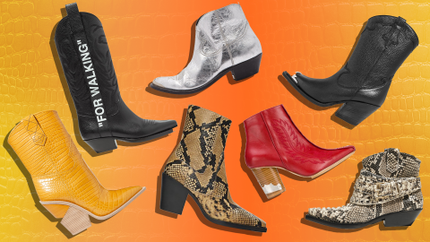 31 Genuinely Chic Ways to Shop Fall's Western Boots Trend | StyleCaster
