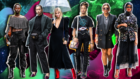 Witchy Black Street Style Is the Only October Lookbook You Need | StyleCaster
