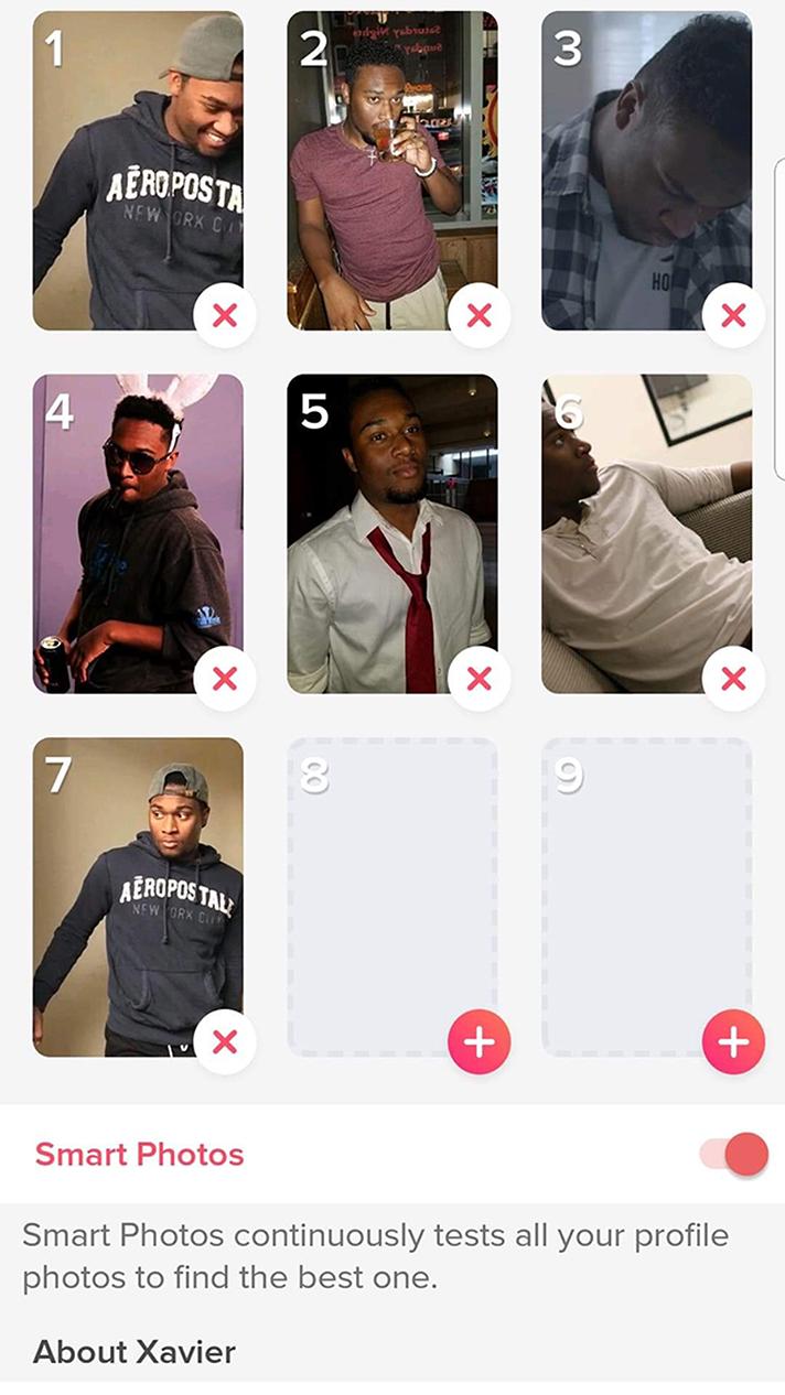 Dating app profile
