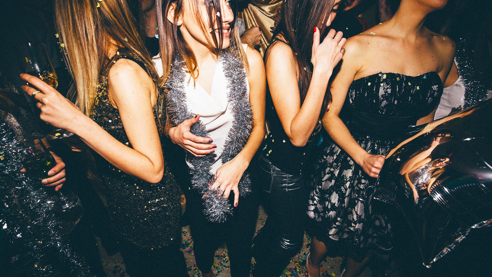 Young Women Girls Night Out