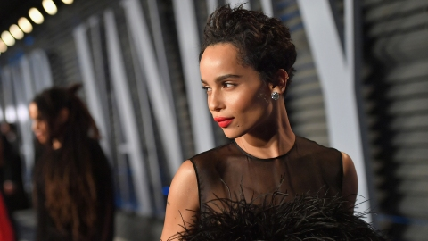 Zoë Kravitz's Secret to Clear Skin Is Apple Cider Vinegar, Eucalyptus | StyleCaster