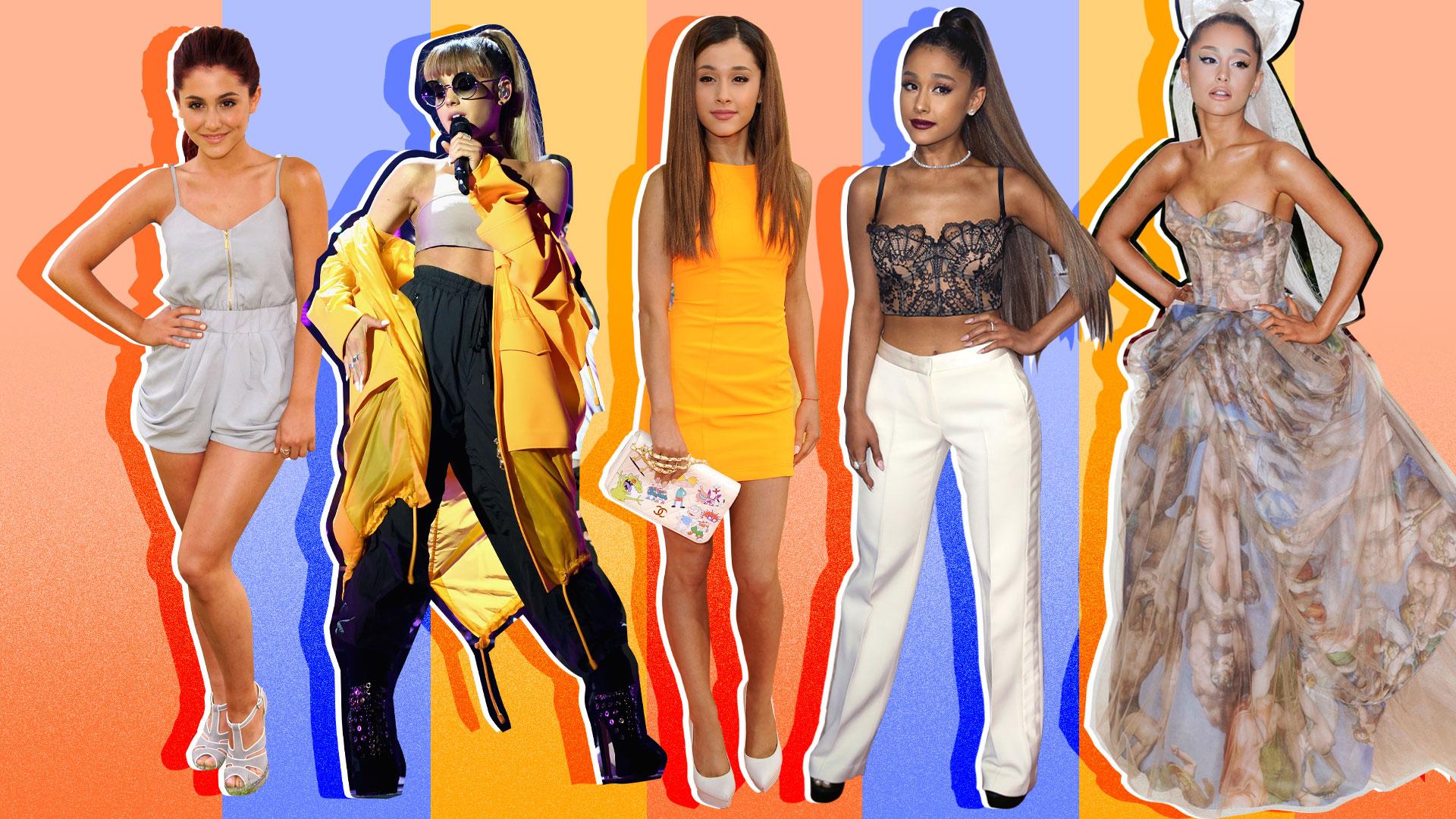 Ariana Grande's Fashion Evolution, from Nickelodeon Star to Pop Princess