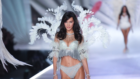 Bella Hadid Says She Was Staring at Her 'Sexy Boyfriend' at the VSFS | StyleCaster