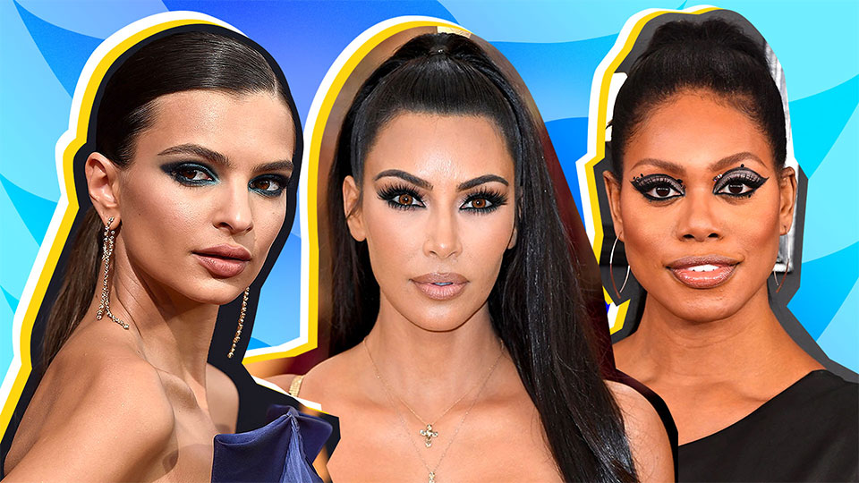 18 Times Celebrities Elevated the Basic Cat-Eye and Made Us Want to Level Up Too