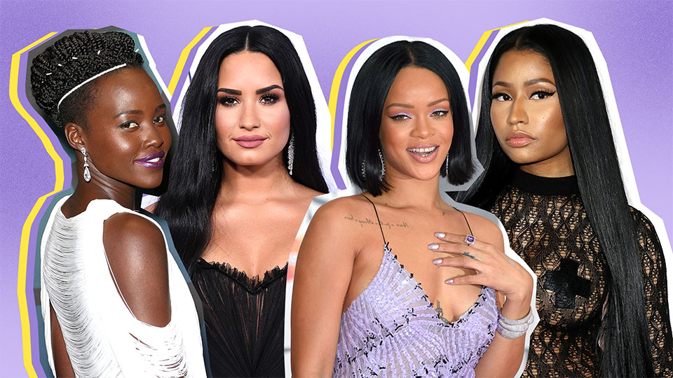 Just 23 Raven-Haired Celebs Who Will Make You Want Jet Black Hair