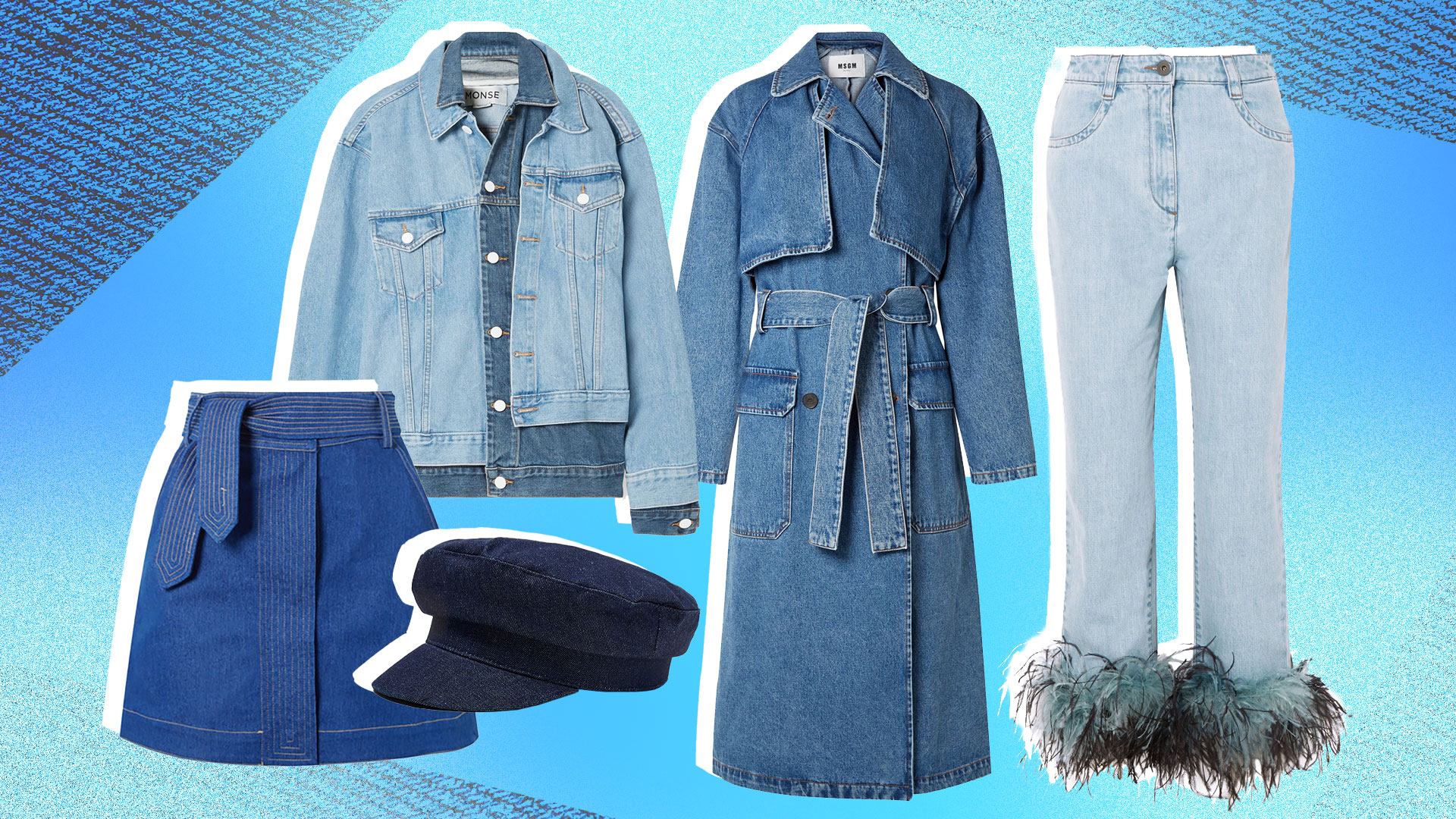 These 31 Out-of-the-Box Denim Pieces Will Flesh Out Your Fall Wardrobe