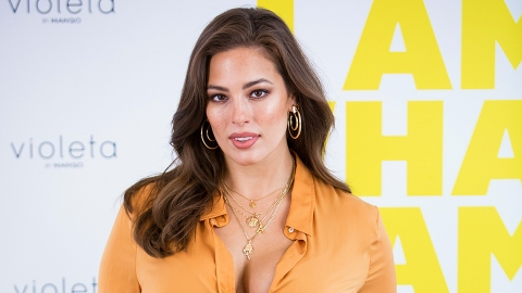 Ashley Graham's Lime Green Pants Are the Statement Staple We Didn't Know We Needed | StyleCaster