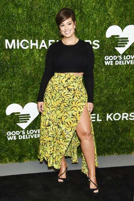gettyimages 1052314696 Ashley Graham's Lime Green Pants Are the Statement Staple We Didn't Know We Needed