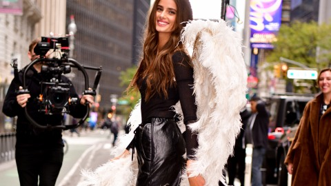 This Year's Victoria's Secret Fashion Show Fittings Were Loaded with Leather | StyleCaster