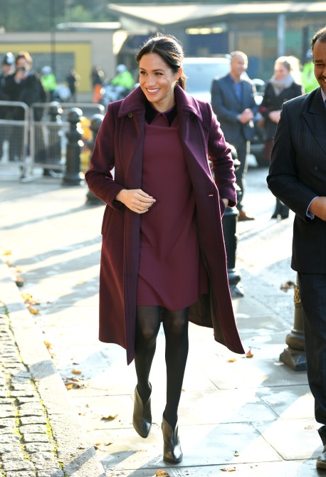 gettyimages 1064040734 Meghan Markle and Kate Middleton Just Twinned On The Same Day