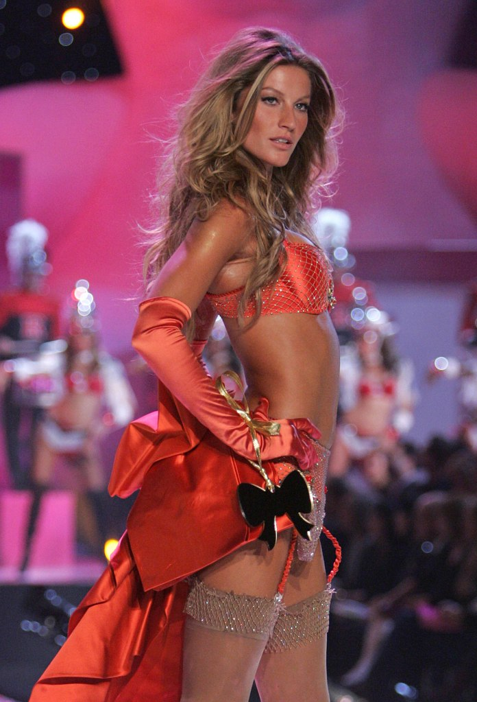 Gisele Bundchen for Victoria's Secret