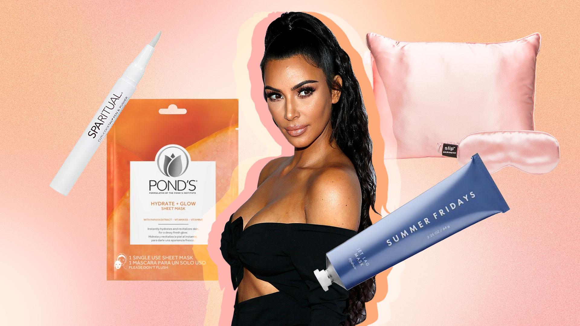 Kim Kardashian's Best Travel Beauty Secrets