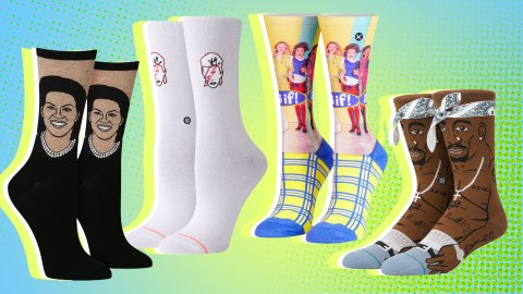 20 Pop-Culture-Themed Socks for Easy Stockings Stuffers | StyleCaster