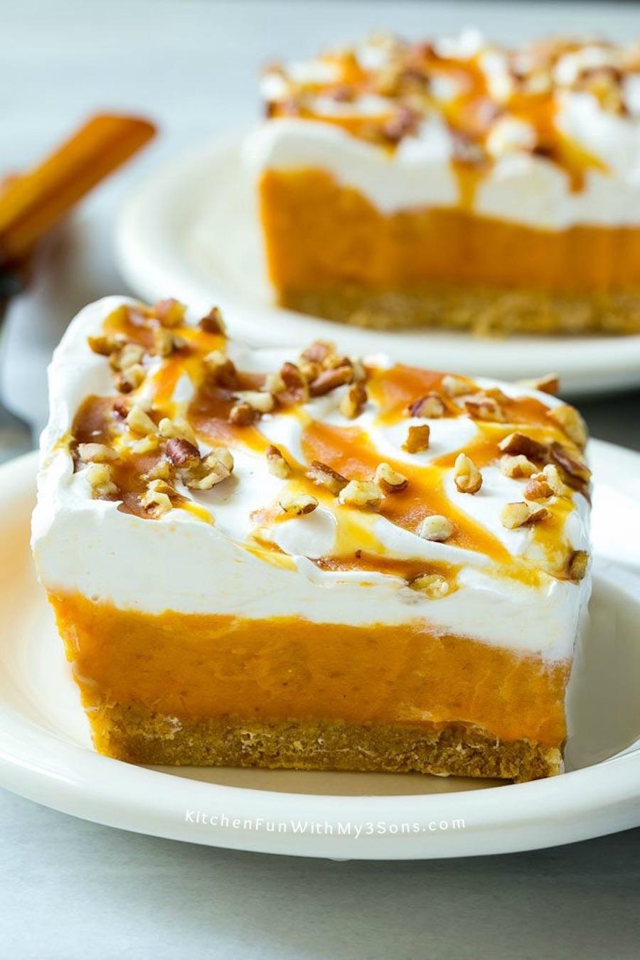 STYLECASTER   No-Bake Thanksgiving Desserts