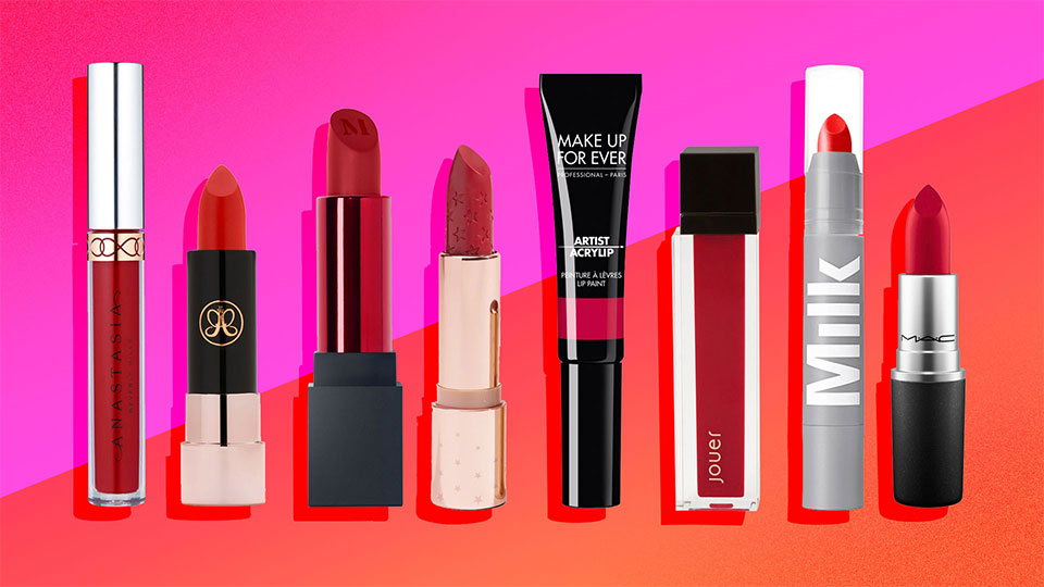 The Best 20 Under-$20 Red Lipsticks for Holiday Party Season