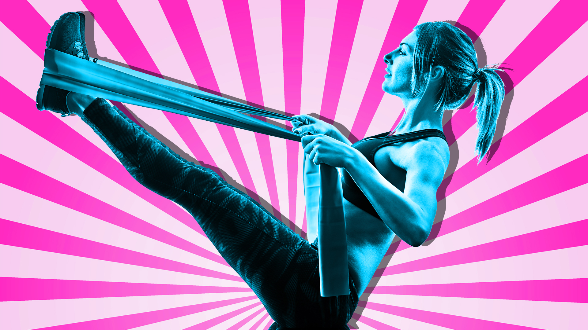 15 Exercises Anyone Can Do at Home With Resistance Bands