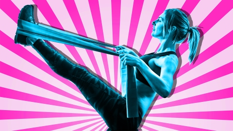 15 Exercises Anyone Can Do at Home With Resistance Bands | StyleCaster