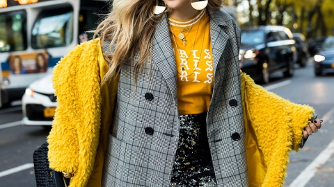 How to Combine Fall's Boldest Trends Without Looking Like You Got Dressed in the Dark | StyleCaster