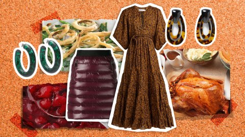 A Fashion Moodboard Inspired by Your Favorite Thanksgiving Foods | StyleCaster
