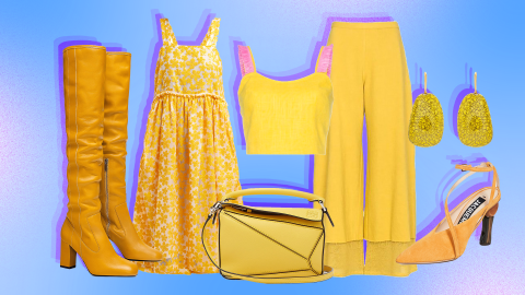 23 Ways to Wear 2019's Favorite Color: Marigold Yellow | StyleCaster