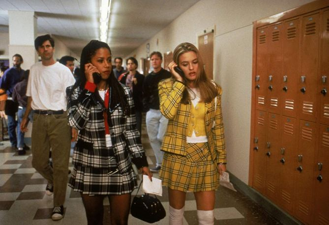 Cher's Plaid Mini Suit in 'Clueless'