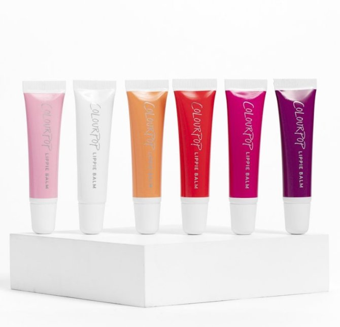 Lippy Balm Group stylecaster 1 ColourPop's New Lip Care Products Are Just What Our Winter Pout Needs